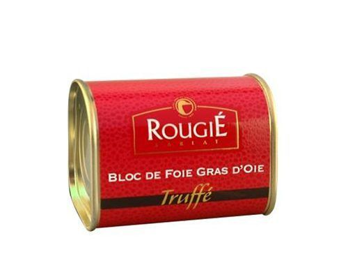 Acheter bloc de foie gras d'oie truffé