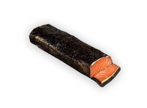 Acheter saumon fumé avec d'algue nori et wasabi Benfumat