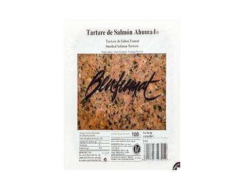 Acheter tartare de saumon fumé Benfumat