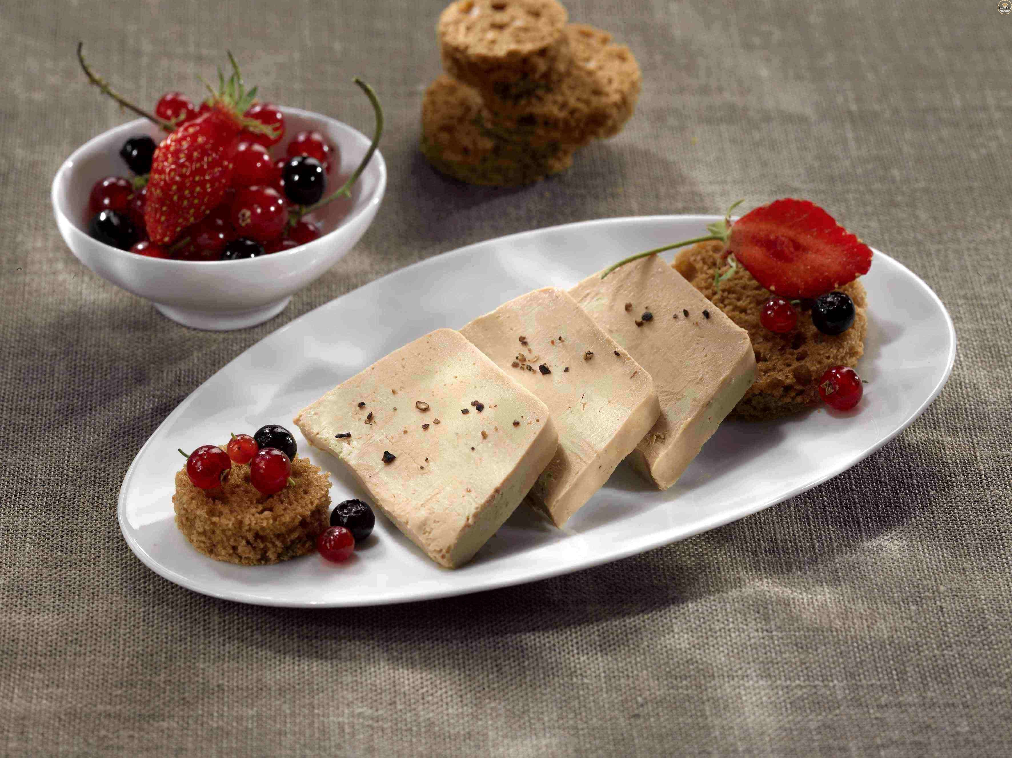 bloc de foie gras de pato 30% trozos micuit