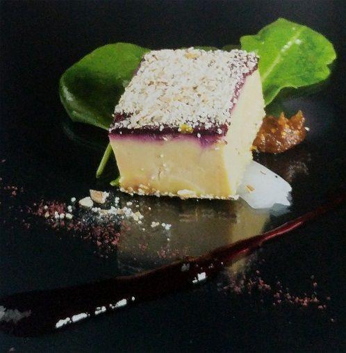 Terrina de foie gras y frutos rojos