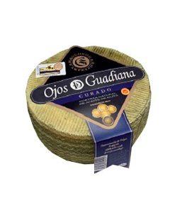 Queso Manchego Curado Ojos del Guadiana Pieza