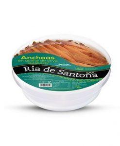 Acheter anchois de Santoña 65-70 filets Ría de Santoña