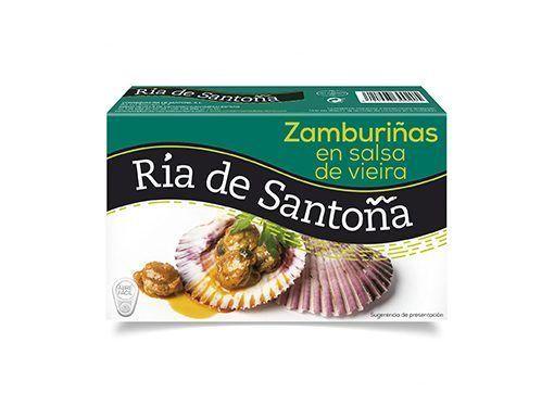 Comprar Zamburiñas en salsa de vieira