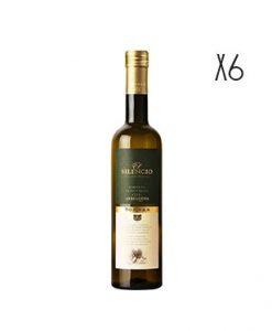 Aceite de oliva virgen extra El Silencio Arbequina 25 cl. 6 botellas de 25 cl.
