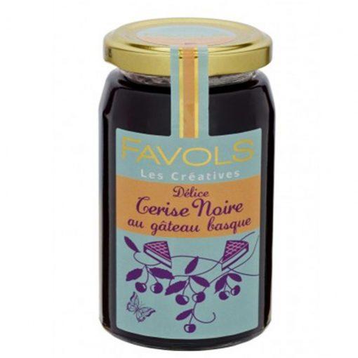 Comprar mermeladas Favols de Cereza negra al pastel Vasco