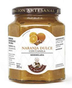 Comprar Mermelada de Naranja dulce con Canela