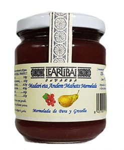 Comprar Mermelada de pera y grosella Leartibai