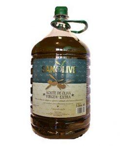 Comprar Aceite de Oliva virgen Extra Sanolive 5L
