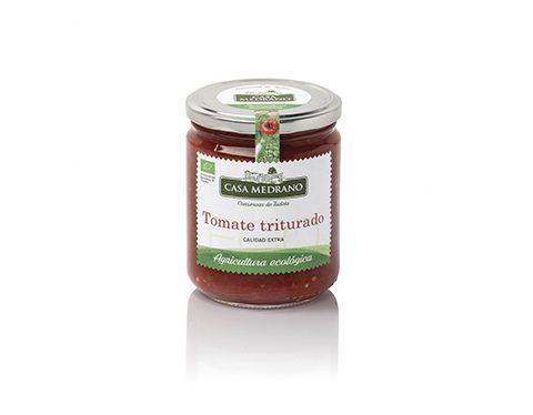 Organic passata tomato Casa Medrano