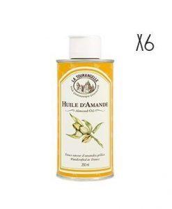 Aceite de almendras La Tourangelle 6 botellas de 25 cl.