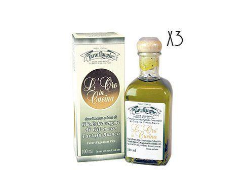 Huile d'olive vierge extra avec de truffe blanche Tartuflanghe