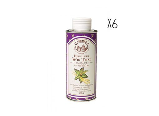 Aceite Thai Wok La Tourangelle 6 botellas de 25 cl.