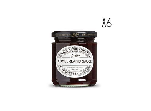 Cumberland sauce Tiptree 6 jars of 227 g.