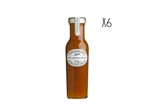 Salsa de mango picante Tiptree 6 tarros de 310 g
