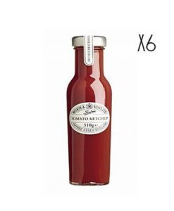 Tomate Ketchup Tiptree 6 tarros de 310 g.