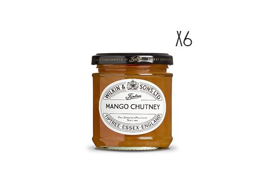Mango Chutney Tiptree 6 jars of 220 g.