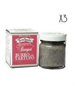 Mantequilla con trufa Tartuflanghe 3 tarros de 30 g.