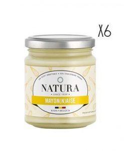 Mayonesa Natura 6 tarros de 160 g.