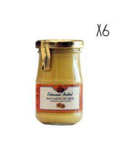Dijon Mustard Edmond Fallot 105 g 6 jars of 105 g.
