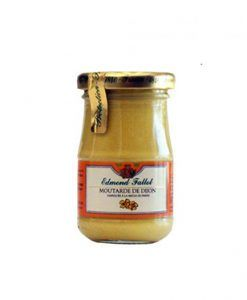 Dijon Mustard Edmond Fallot 210 g 6 jars of 210 g.