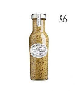 Mostaza con miel Tiptree 6 tarros de 285 g