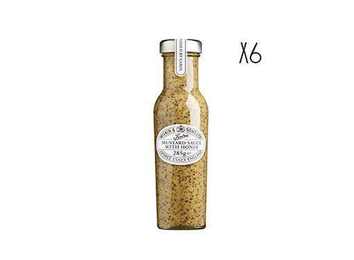 Mustard with honey Tiptree 6 jars of 285 gr.