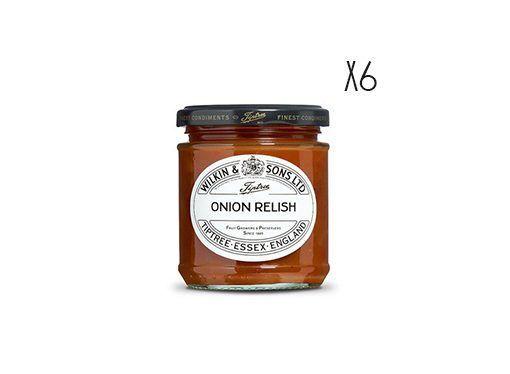 Relish de cebolla Tiptree 6 tarros de 210 g.