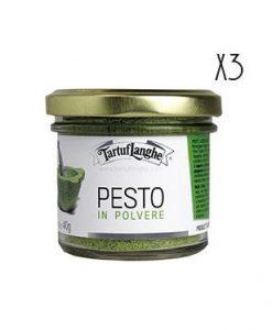 Pesto lyophilized 3 jars of 25 g.