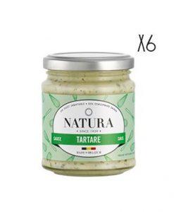 Salsa Tártara Natura 6 tarros de 160 g.