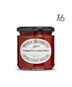 Chutney de tomate Tiptree 6 tarros de 210 g.
