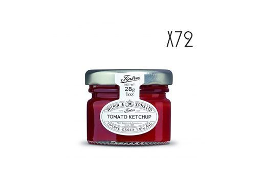 Tomato Ketchup Tiptree 72 jars of 28 g.