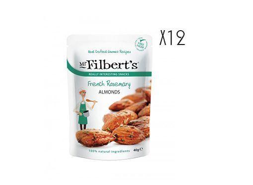Almendras con romero francés Mr. Filber'ts