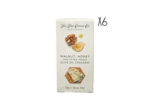 Crackers de aceite de oliva virgen extra, nueces y miel The Fine Cheese