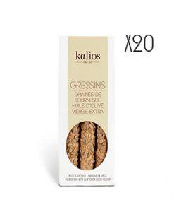Grissini con semilla de girasol Kalios
