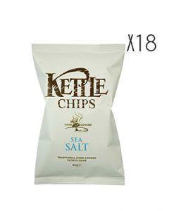 Patatas fritas con sal marina Kettle