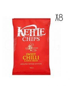 Patatas fritas dulces y picantes de sweet chili y sour cream Kettle