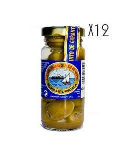 Aceituna rellena con filetes de anchoa El Xillú L'Escala