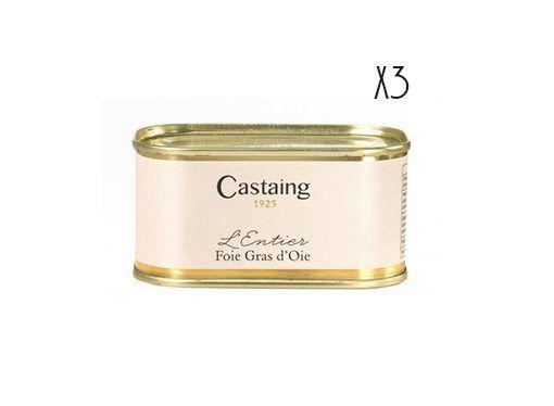 Foie gras entero de oca Castaing