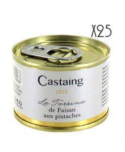 Terrina de faisán con pistacho Castaing 1