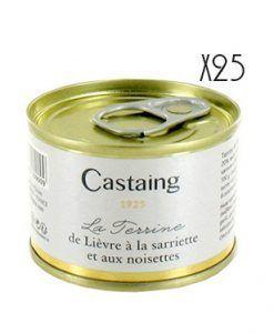 Terrina de liebre a las nueces Castaing