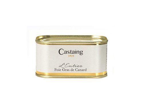 Foie gras entero de pato Castaing