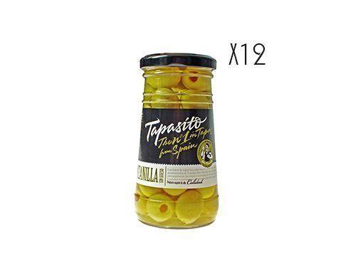 Olive dénoyautée Manzanilla Tapasito