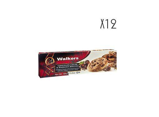 Biscuits con chips de chocolate y avellanas Walkers