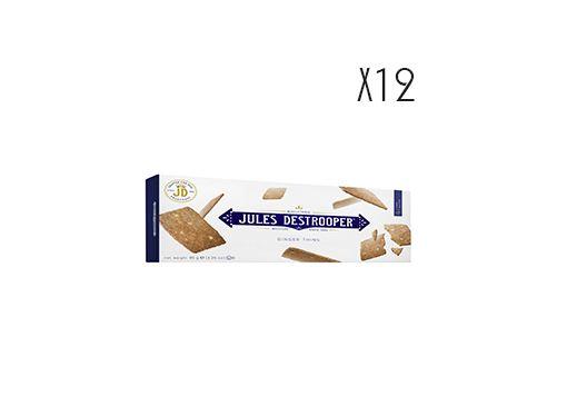 biscuits auxs petits morceaux de gingembre Jules Destrooper