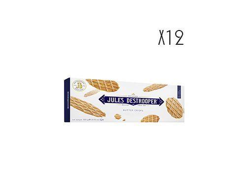 Biscuits croustillants au beurre Jules Destrooper