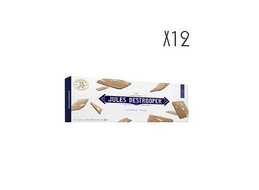 biscuits ultra-fins aux amandes de Valencia Jules Destrooper