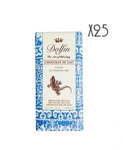 Chocolate con leche 38% cacao de Vanuatu Dolfin