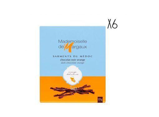 Chocolate negro a la naranja Sarments du Médoc
