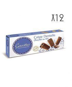 Crêpes Dentelles chocolate con leche Gavottes